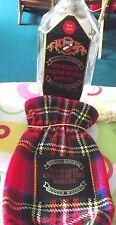Stewart Cream Of The Barley Scotch Whiskey bottle & Tartan Cover (Empty)