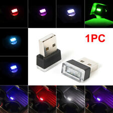 Flexible Mini USB LED Light Lamp For Car Atmosphere Colorful Lamp Accessories