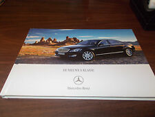 2007 Mercedes S-Class 104-Page HARD-COVER Sales Catalog /In German