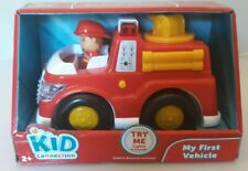 Kid Connection My First Vehicle Fire Truck with Lights and Sound Brand New