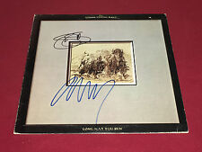 NEIL YOUNG SIGNED LP AUTOGRAPHED STILLS YOUNG BAND STEPHEN STILLS X2 PROOF