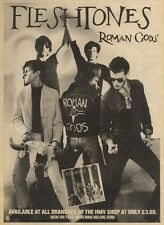 3/4/82Pgn25 Advert: The Fleshtones roman Gods 15x11