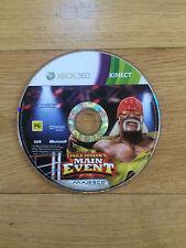 Hulk Hogan's Main Event para Xbox 360 * * disco solamente