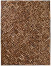 Restoration Hardware Diamond Marled Cowhide Rug Handmade 8x10  $$ $5349 MSRP $$