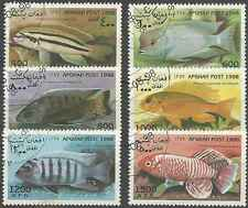Timbres Poissons Afghanistan 1839/44 o réf. Stampworld lot 20565