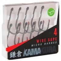 Korda NEW Carp Fishing Kamakura Wide Gape Hooks *All Sizes*
