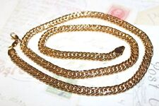 """Necklace 45cm in length x 6mm """""""" Brand New 9K Gold Filled"""