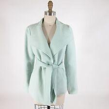 0 - CARLISLE Gorgeous Mint Green Wool Angora Jacket w/ Matching Belt 0310ER