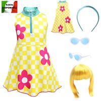 Simile Lol Go Go Gurl Vestito Carnevale Bambina Tipo Lol Dress Cosplay LOLGOG1