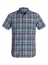 "QUIKSILVER Men's S/S Button Shirt ""Foot Pat"" - BMC1 - Small - NWT"