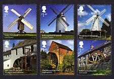 2017 WINDMILLS and WATERMILLS - Mint Stamp Set of Six