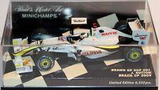 MINICHAMPS 1:43 BRAWN BGP 001 J.BUTTON BRAZIL GP 2009 400 090622