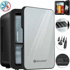 KESSER® 2in1 Mini Kühlschrank 4L Minibar Kühlbox Thermobox 12/230V Edelstahl NEU