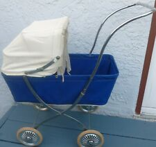 """Vintage (1960s) ROSCA DOLL CARRIAGE/STROLLER:  Collapsible:  21"""" x 23"""" x 10"""""""