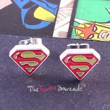 Enamel Silver Plated Costume Earrings without Stone