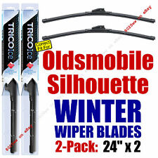 WINTER Wipers 2-Pack Premium Grade - fit 1990-2004 Oldsmobile Silhouette 35240x2