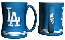 Los Angeles Dodgers Coffee Mug - 14oz Sculpted [NEW] Tea Warm Microwave Cup CDG
