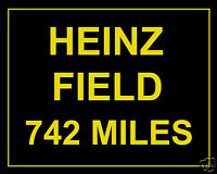 Pittsburg Steelers Football Heinz Field Custom Miles 8 x 10 Photo Picture