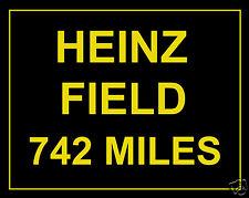 Pittsburg Steelers Football Heinz Field Custom Miles 11 x 14 Photo Picture