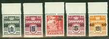 FAROE ISLANDS #2-6  Provisional Set Complete NH Scott $1,150.00