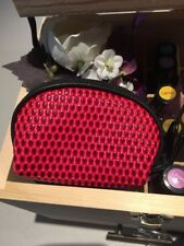 essential Oil Red DoTERRA Handbag Carry Case Pouch Holds 2 x 15ml Or 3 x 5ml