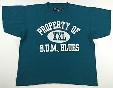 Vintage 90's Bum Equipment Work Out T-Shirt Size M Med.