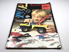 LEGO Vintage Idea Book 8889 (116 pages) Technic 1984