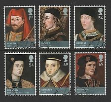 "2008 ""Kings & Queens House of Lancaster & York 'sg2812-2817 - Fine USATO"