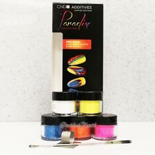 CND SHELLAC 5 pc Additives Paradise Collection + FREE Spatula & Thumb Palette