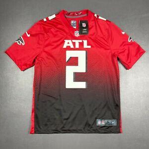 100% Authentic Atlanta Falcons Matt Ryan Nike Red 2nd Alternate Game Jersey L 44