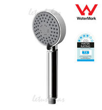 Chrome Round Bathroom Hand Shower Rose Bath Shower Head Replacement 3 Spray Mode
