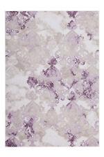 Classic Carpet Oriental Design Modern Low-pile 3d-effekt Effect Lilac 80X300CM