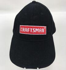 CRAFTSMAN Black Head Lamp LED LIGHT HAT Night Work Baseball Cap Strapback