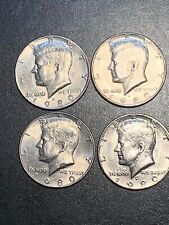 **FREE SHIPPING** 2 Coins 1973 P /& D Kennedy Half Dollar Set