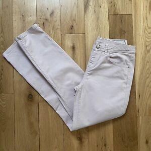 Jigsaw Pale Pink Hampton Slim Boyfriend Stretch Jeans Waist 28 Leg 28 Size 10
