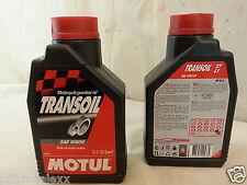 huile de moteur 2/4 temps 10W30 MOTUL TRANSOIL motorrad API GL-4