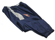 New NIKE Mens ARSENAL Football Track Tracksuit Trousers Navy Blue Grey XL