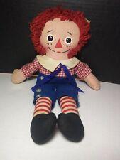 "VintageRare Knickerbocker Raggedy Ann Doll 15"" Pennsylvania Department of Labor!"