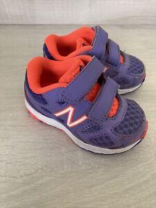 Size 2.5 Baby Girl Running New Balance Trainers