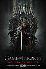 GAME OF THRONES CHAIR ORIGINAL 11x17 MINI MOVIE POSTER COLLECTIBLE