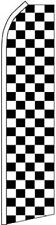 """BLACK & WHITE CHECK"" super flag swooper checker"