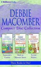 Debbie Macomber CD Collection : Susannah's Garden, Back on Blossom Street,...
