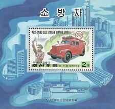 Timbre Pompiers Corée BF391 ** année 2001 lot 17277