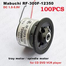 5VDC 120mA 1.5V-9V 2500-3100rpm 540mA max Mabuchi RF-500TB DC Motor
