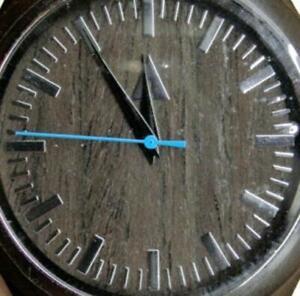 Treehut Men's Wooden Watch Analog Quartz New Batt- New Without Tags