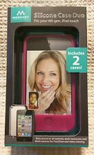 NEW!!! Silicone Case Duo for 4th Generation iPod Touch - Includes 2 CASES