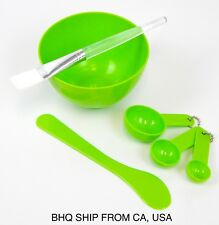 4 in 1 DIY Facial Face Mask Tool Set Mixing Bowl Brush Stick Spoon Make Up Tools