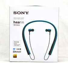 Sony h.ear in Wireless Noise canceling Stereo Headset MDR-EX750BT Viridian Blue