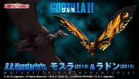 BANDAI S.H.MonsterArts Mothra & Rodan 2019 GODZILLA king of the monsters 2