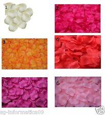 1000 petali DI ROSA di stoffa tessuto matrimonio CENA ROMANTICA decorazione